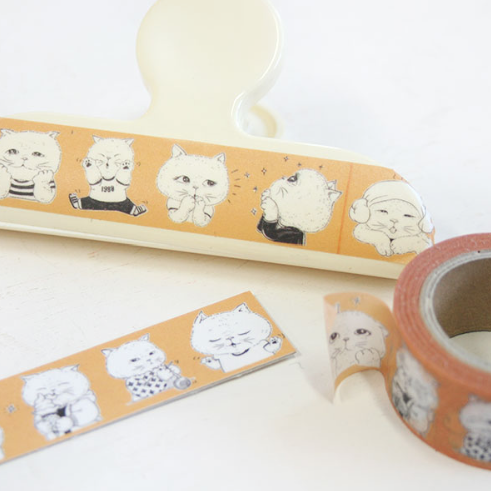 UncleCat Washi Tape - The Cat's Drawing Diary