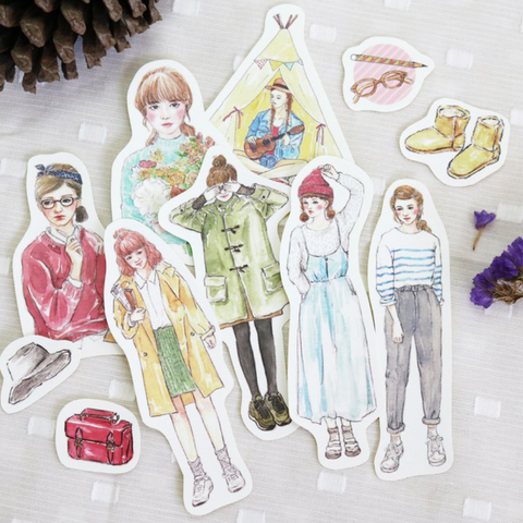 Bon Bon Stickers - Let's Go Picnic!