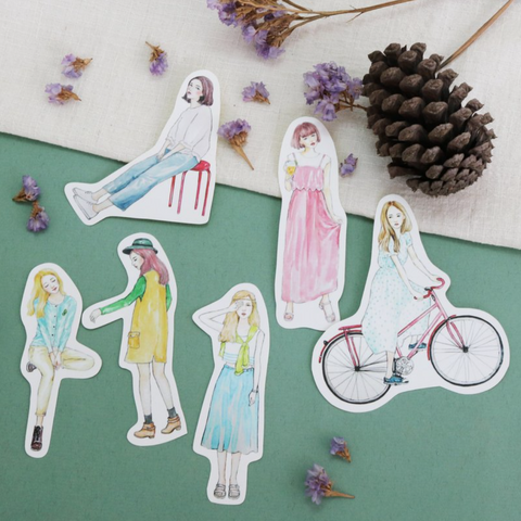 Bon Bon Stickers - Walking In The Park