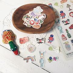 Bon Bon Stickers - Vintage Items