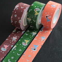 Classiky Love Letter Washi Tapes (22mm) - Set of 3