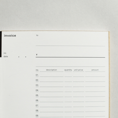 Classiky x Drop Around Invoice Book 01-04