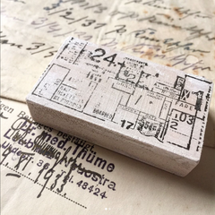 Amnesiac Original Rubber Stamps Collection