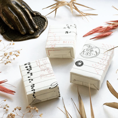 OHS Botanical Rubber Stamp Collection - Lianas (white surface)