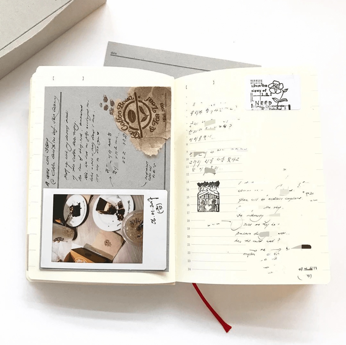 MD Notebook Diary 1Day 1Page 2020