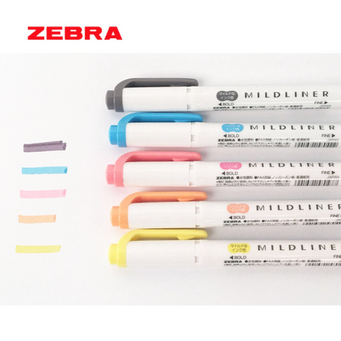 Zebra Mildliner Double-Sided Highlighter