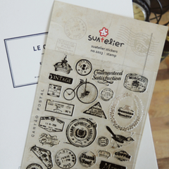 Suatelier Stickers - Stamp