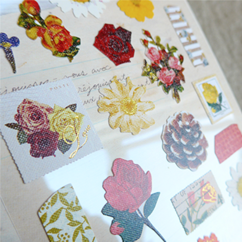 Suatelier Stickers - Vintage flower