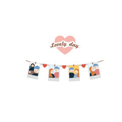 Suatelier Stickers - lovely day