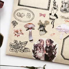 OHS Botanical Rubber Stamp Collection III