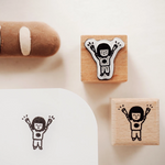 Yohand Studio Rubber Stamp - Cheer up / Add-Oil