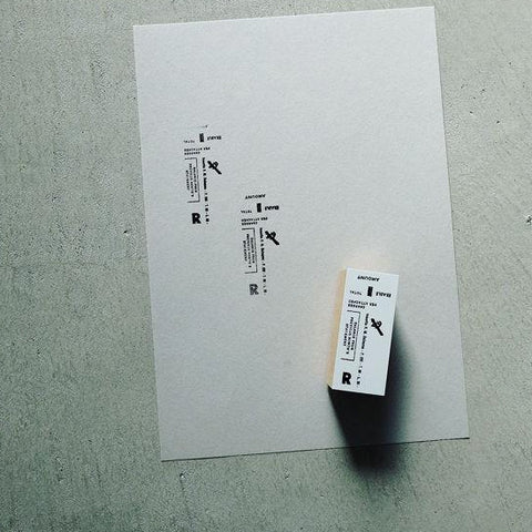YOHAKU Original Rubber Stamp - Time