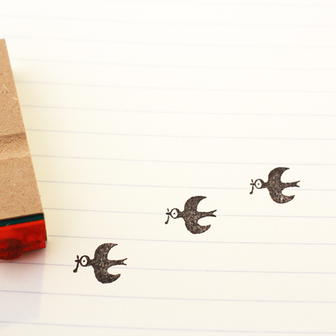 Kojima Inbo Rubber Stamp - Bird Series