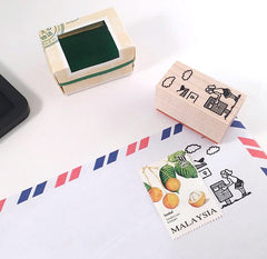 Elf Around Stamps