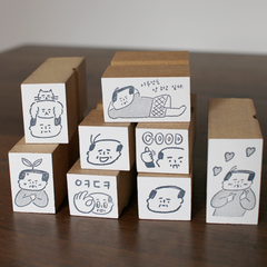 Ajassi Rubber Stamp - Ajassi Series