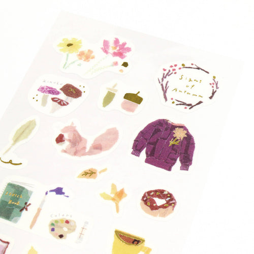 [My Favorite] Washi Sticker - Autumn