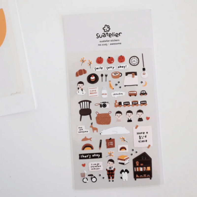 Suatelier Sticker -  Awesome