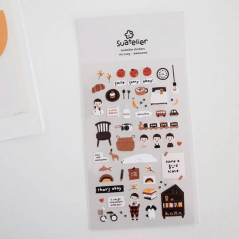 Suatelier Stickers -  Awesome