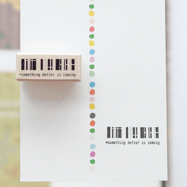 Peho Design Rubber Stamp - Barcode