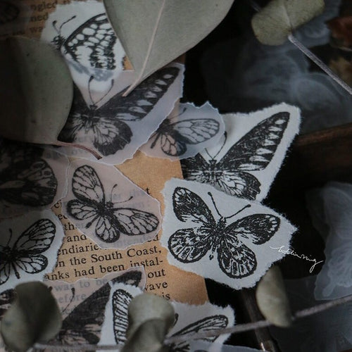 LCN Rubber Stamp Set - Butterfly