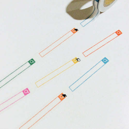 icco nico Search Bar Washi Tape