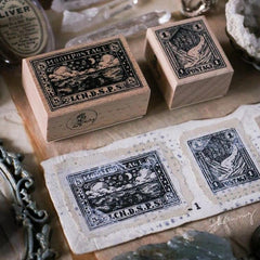 LCN Rubber Stamp Set - Landscape Postage Stamp
