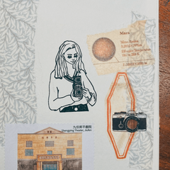LDV Rubber Stamp: Camera Girl