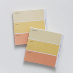 Colour Palette Memo Pad - Red/Yellow/Blue/Green