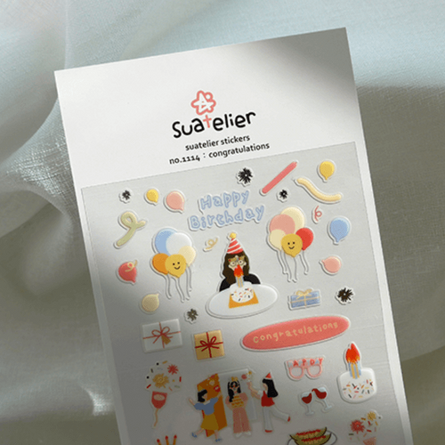 Suatelier Sticker -  congratulations