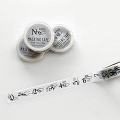 KNOOP WORKS Washi Tape - Number