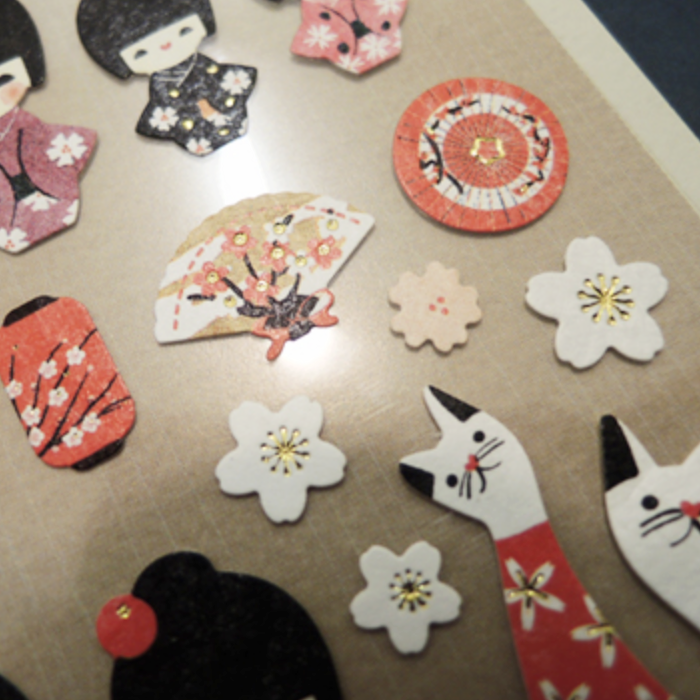Suatelier Stickers - Kokeshi Dolls
