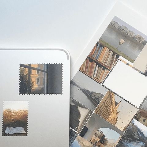 Photo Postage Stickers