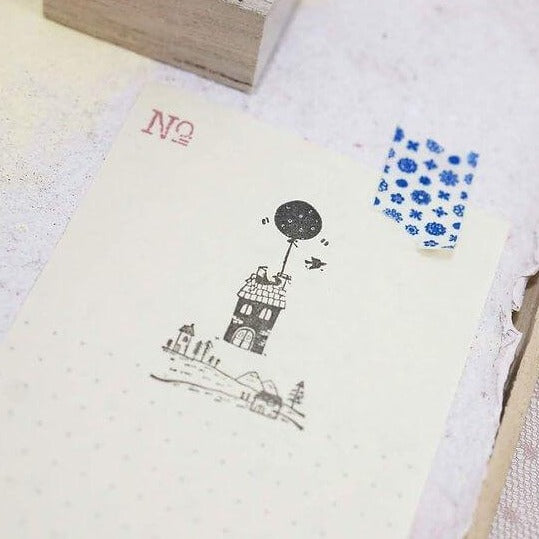 Black Milk Project Rubber Stamp - Floating House