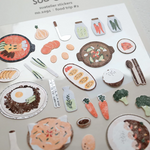 Suatelier Stickers - Food Trip II
