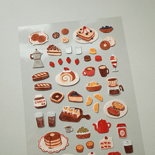 Suatelier Sticker - Food Trip IV