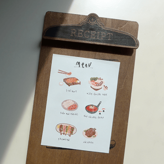 Suatelier Stickers - Food Trip III