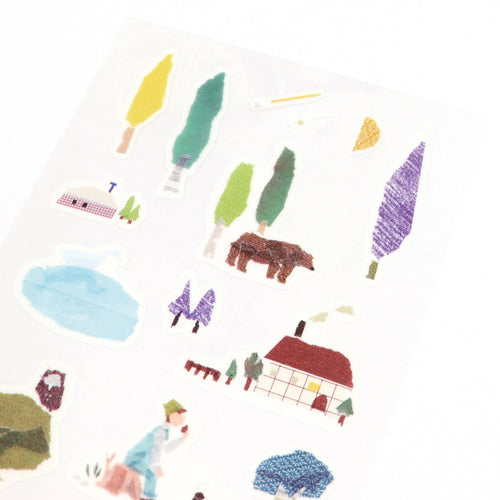 [My Favorite] Washi Sticker - Forest