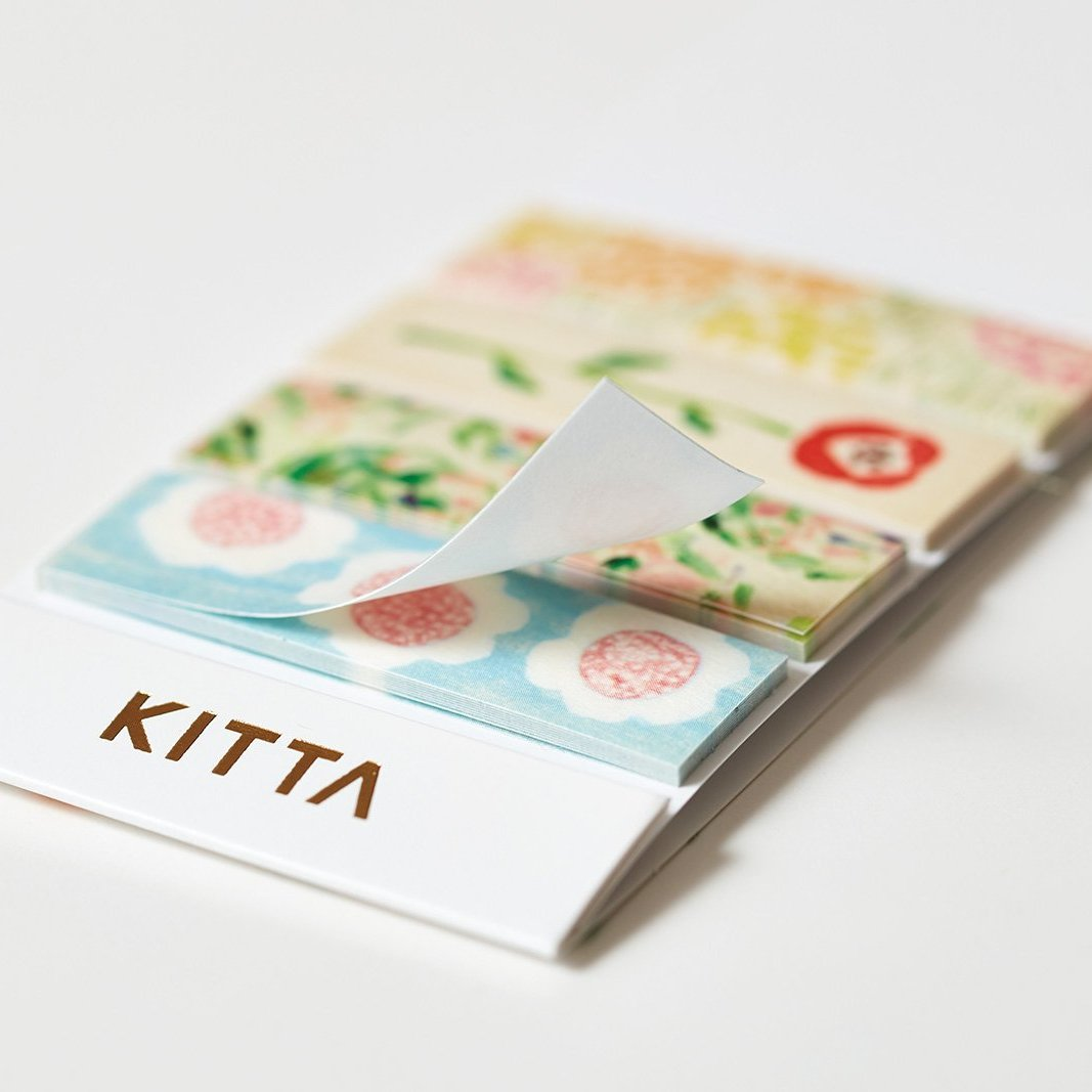 KITTA Washi Tape Stickers - KIT042 Plants
