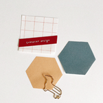 Suatelier Geometric Sticky Notes