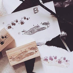 Kurukynki Illusion Rubber Stamps