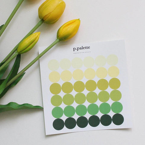 Palette Stickers - Spring