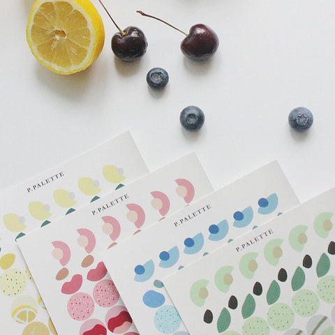 Palette Stickers - Fruit