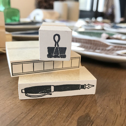 Ajassi Rubber Stamp - Stationery Series