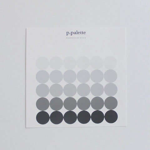 Palette Sticker - Black