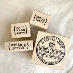 CatslifePress Rubber Stamp - outgoings Series