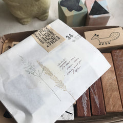 In the Wild Rubber Stamp Set