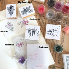 OHS Botanical Rubber Stamps Collection III