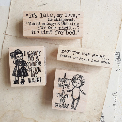 CatslifePress Rubber Stamp - Humour/Sayings Series