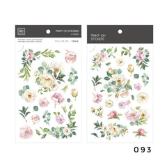 MU Print-On Sticker - Botanical Series VII