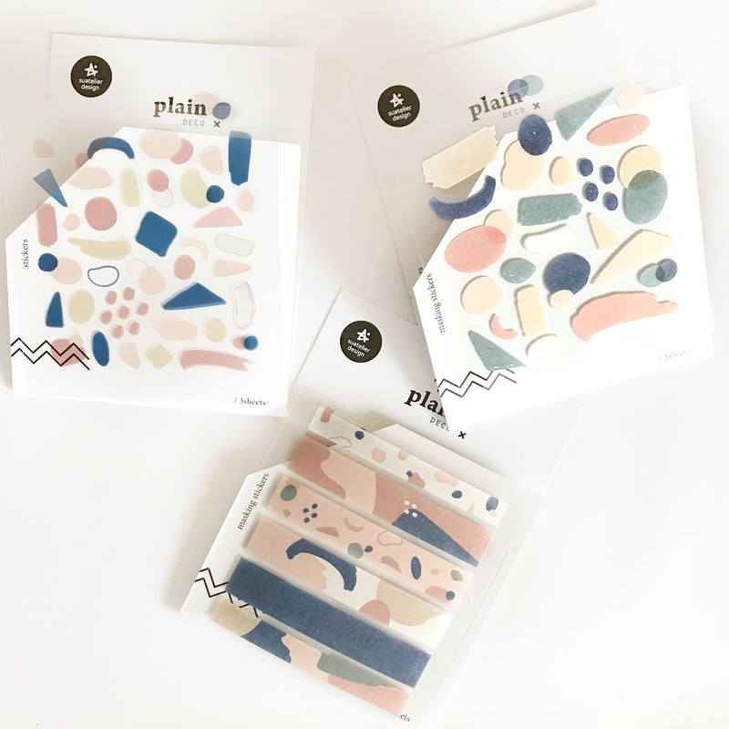 Suatelier Stickers - Geometric Plain V